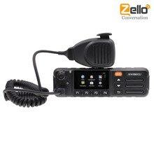 ANYSECU 4G W7Plus Zello PTT Teamspeaker Android 7.0 Walkie Talkie 4G WiFi A Due Vie Radio Del Telefono Mobile/nota versione di UE, versione DEGLI STATI UNITI