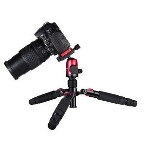 Image 5 - Manbily Lightweight Tripod Portable Travel Tabletop Tripod Macro Photography Tripod with CNC Ball Head for Sony Canon Nikon