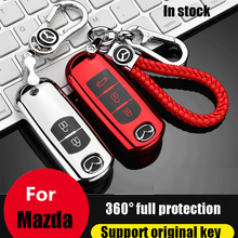 ZOBIG TPU+PC Car Key Cover Case fit for Mazda 2 3 5 6 2017 CX-4 CX-5 CX-7 CX-9 CX-3 CX 5