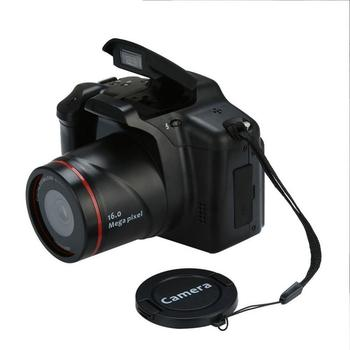 1080P HD Camcorder Video Camera 16X Digital Zoom Handheld Professional Anti-shake Camcorders With 2.4 LCD Screen DV Recorder alloyseed 2 7 inch digital camera 8x optical zoom lens 24mp hd children camcorder video recorder anti shake photo dv
