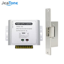 Jeatone дверная система доступа для домашних ворот Электропитание