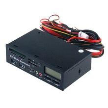 """5,2"""" USB 3,0 e-SATA все-в-1 pc Медиа-панель многофункциональная Передняя панель кардридер I/O порты"""