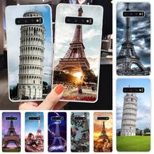MayDaysmt Tower of Pisa DIY Painted Bling Phone Case For Samsung S6 S7 S7 edge S8 S8 Plus S9 S9 Plus S10 S10 plus S10 E(lite) maydaysmt abstract art phone case cover for samsung s6 s7 s7 edge s8 s8 plus s9 s9 plus s10 s10 plus s10 e lite