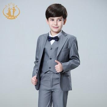 Nimble Suit for Boy Terno Infantil Boys Suits for Weddings Costume Enfant Garcon Mariage Disfraz Infantil Boy Suits Formal 3pcs
