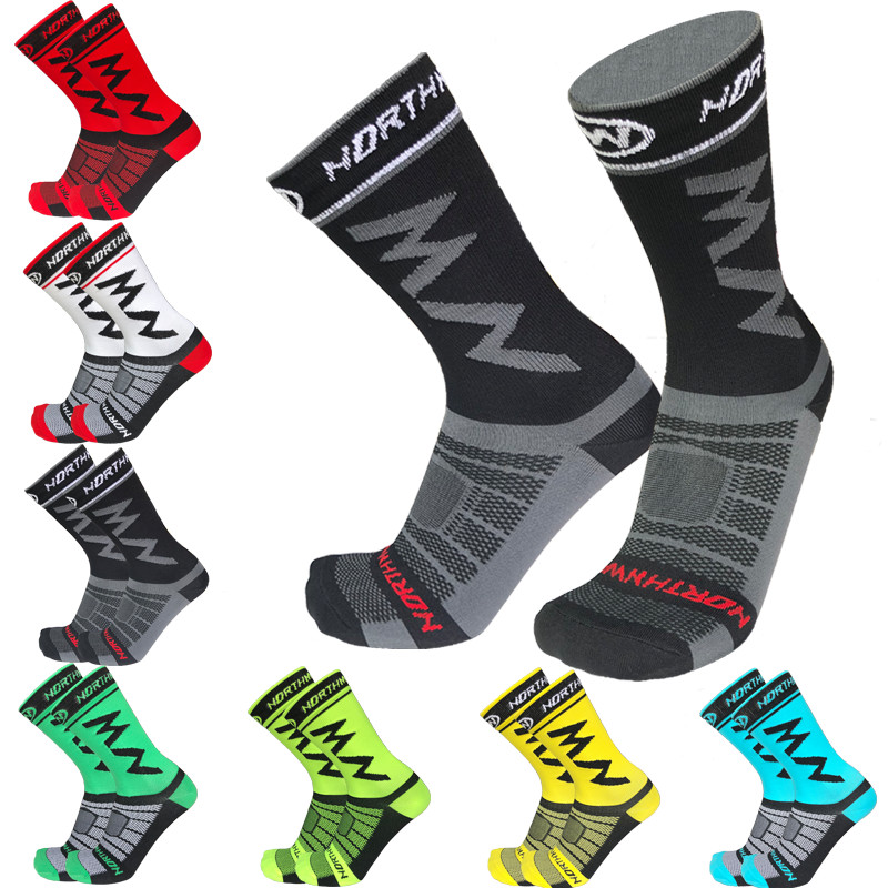 Northwave Nw 7 Team Pro Cycling Socks Men Bike Socks Breathable Bicycle Socks Outdoor Sports Racing Socks Calcetines Ciclismo