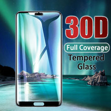 HD Tempered Full Cover Glass For Huawei P20 P30 Lite Pro Screen Protector Protective For Huawei Mate 10 20 9 Lite Pro Glass Film hat prince hd clear full screen film for huawei p20 lite
