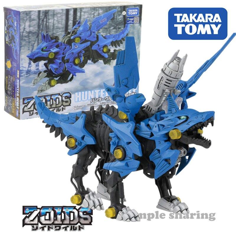 TAKARA TOMY ZOIDS Zoids Wild ZW16 Hunter Wolf with Tracking Children's Figures Toys # New