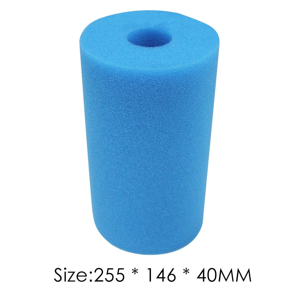 NJYBF Filtre /éponge pour piscine en mousse filtrante Intex H Type R/éutilisable et lavable 10 x 9.05 mm 2 pi/èces.