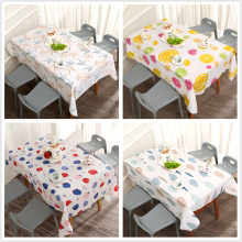PVC Tablecloth Waterproof Printed Wedding-Banquet Dinning Party