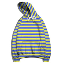 Simple Striped 3D Digital Print Hoodie for Men and Women Unisex Pullover Fashion Outdoor Sports Shirt Long Sleeve Casual Top 6XL