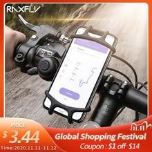 RAXFLY אופניים טלפון מחזיק עבור iPhone XS מקסימום 7 סמסונג אוניברסלי אופנוע טלפון מחזיק אופני כידון Stand תמיכה סוגר