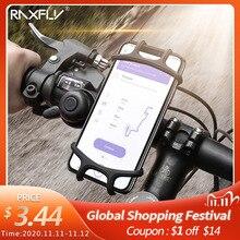 Raxfly自転車電話ホルダーiphone xs最大7サムスンユニバーサルオートバイ電話ホルダー自転車ハンドルスタンドサポートブラケット
