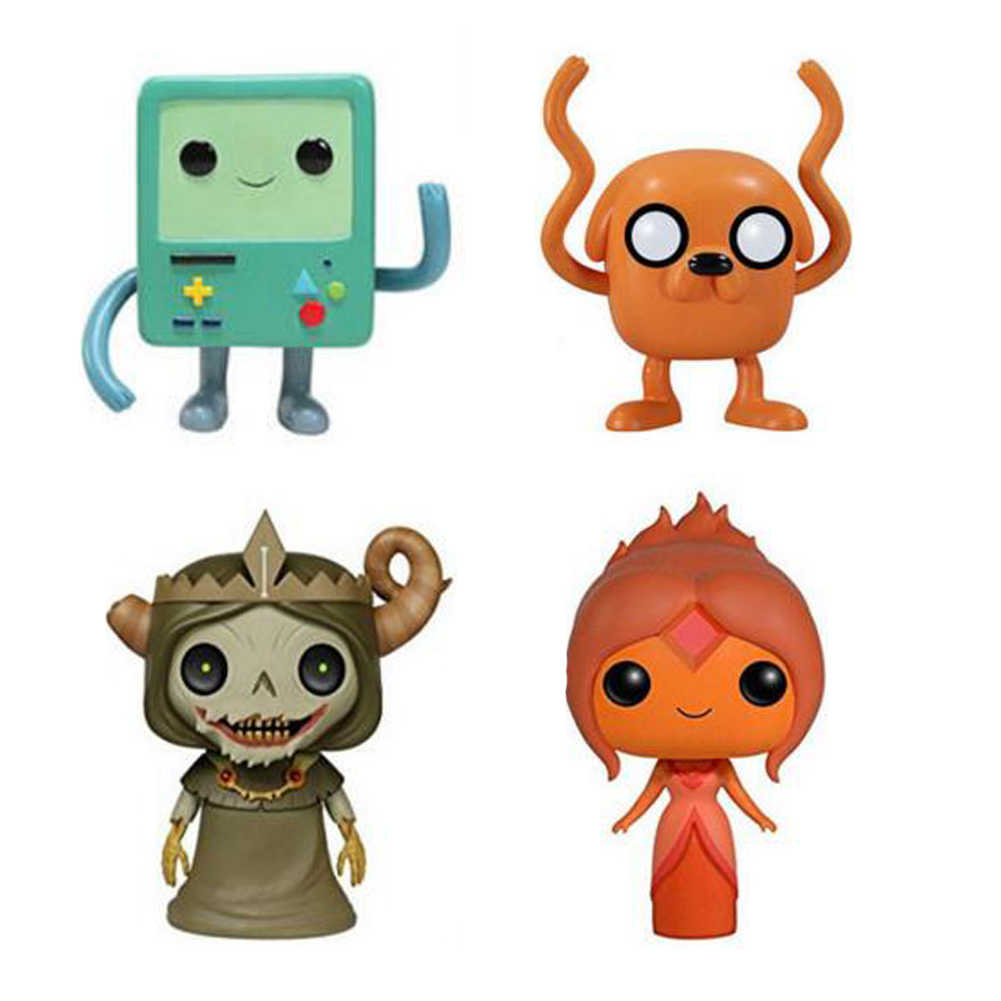 Funko Pop Adventure Time Character 10cm JAKE & BMO Collection Vinyl Doll Action Figure Toys
