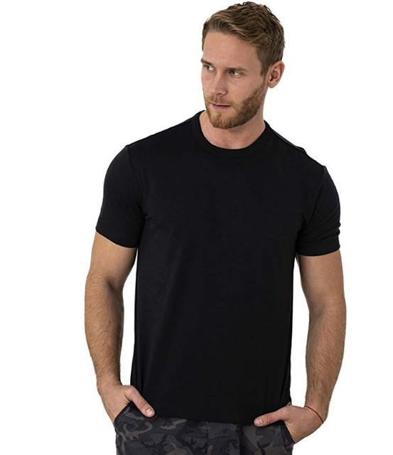 2021 Men's Merino Wool T Shirt Base Layer Wool Tee Men 100% Merino Wool Shirt 170gram Wicking Breathable Anti-Odor Size S-XXL 5