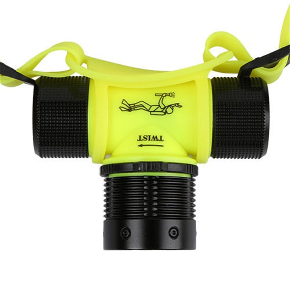 dwaterproof agua lampada de mergulho subaquatica lanterna tocha 05