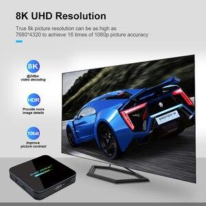 Image 5 - Newest X10 MAX Plus TV Box Android 9.0 4GB 64GB Amlogic S905X3 TV Box Smart Media Player Dual WiFi Bluetooth 8K TV Set top box