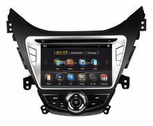 Автомобильный DVD Плеер аудио Радио стерео мультимедиа головное устройство GPS навигация Сенсорный экран для Hyundai Elantra/Avante/I35 2011 2012 2013