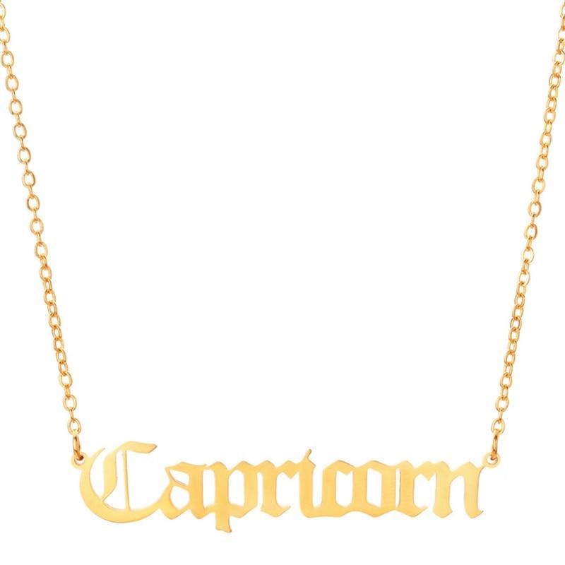 Gold Capricorn