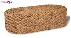 VidaXL ręcznie tkany stolik kawowy w owalnym hiacynt wodny ręczny stolik kawowy w owalnym hiacynt wodny stolik kawowy w Stoliki kawowe od Meble na