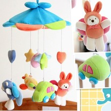 Stuffed Animals Baby Rattles Babies Toys Stroller Cartoon Educational 0 12 Months Gift Jugetes Para s Toddler Toys AC50YL