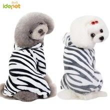 Cat Dog Pajamas Fleece Pet Jumpsuit Autumn Winter Clothes Four legs Warm Clothing Outfit Small Coat Costume 35