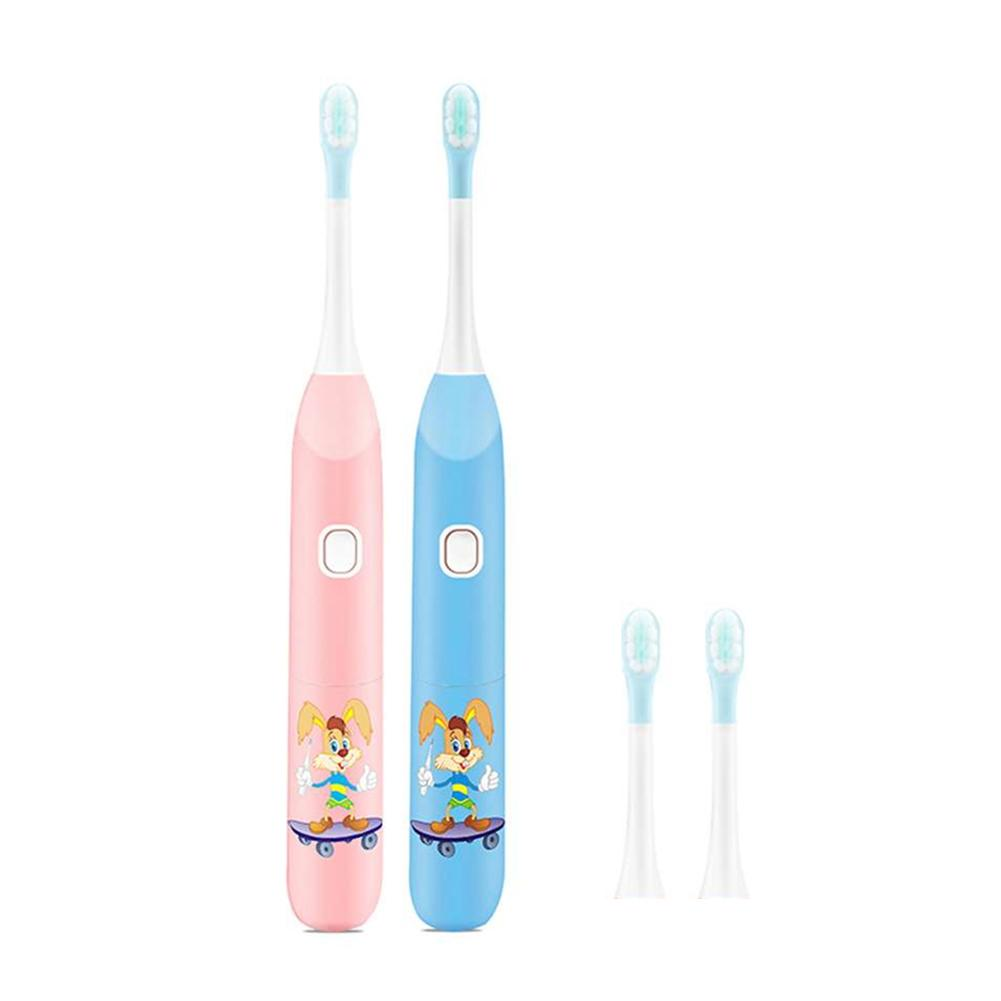 Electric Toothbrush For Children Cartoon Soft Hair Electric Teeth Brush Oral Health Soft Tooth Brush For Kids Battery Powered image