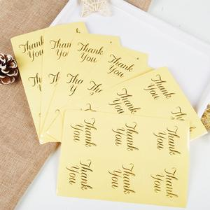 Self-Adhesive-Seal-Labels for Envelopes 10-Sheets 60pcs Round-Stickers Decorative Thank-You