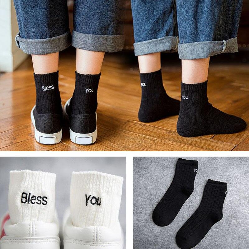 Christmas Girls Fashion Casual Solid Cute Print Embroidery Socks Warm Cotton Soft Short Socks Classics Crew Red Socks