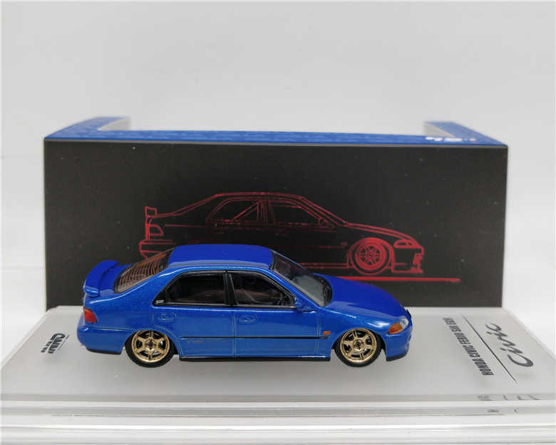 1//64 INNO 1995 Honda Civic EG9 JDM Metal Diecast Vehicles Model Car Collect Gift
