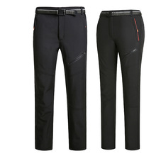 Trousers COUPLE'S Velvet Cotton-Padded Plus-Sized Warm And Autumn Outdoor Thick Sports
