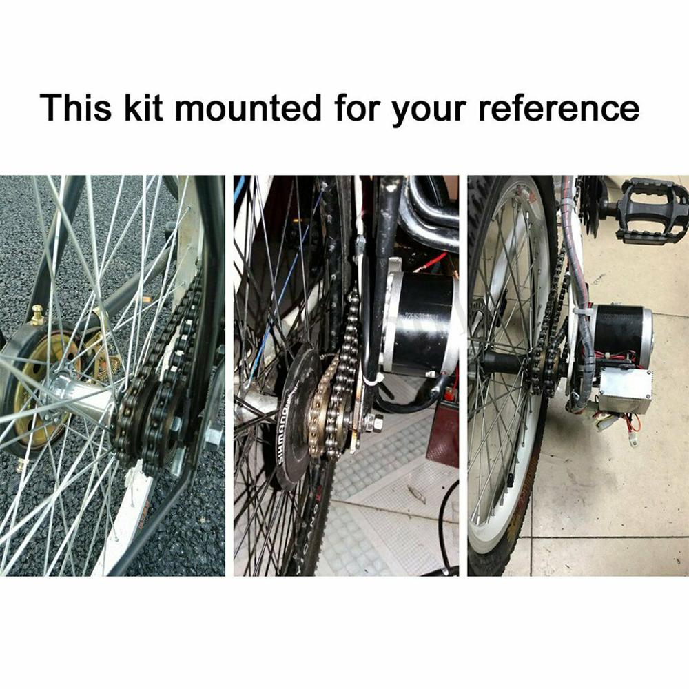 Electric Bike Conversion Kit for 22-28/'/' Bicycle Refit Motor Controller