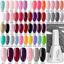 Лазурный красивый модный фиолетовый цвет УФ светодиодный Гель-лак для ногтей 120 цветов Гель-лак для нейл-арта Блестящий УФ-Гель-лак для ногтей