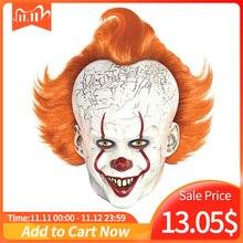 Horreur Pennywise Joker masque Cosplay it chapitre 2 Clown Latex masques Halloween déguisement accessoires de luxe