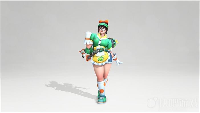 Customized Summer sugar Honey Mei Cosplay Costume Zhou Meiling xiao mei cosplay costume coat 2