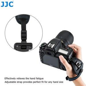 Image 2 - JJC DSLR كاميرا اليد قبضة حزام شريط للرسغ ث/U لوحة حامل لنيكون D850 D810 D750 D610 D7500 D7200 D7100 D5600 D5500 D3500