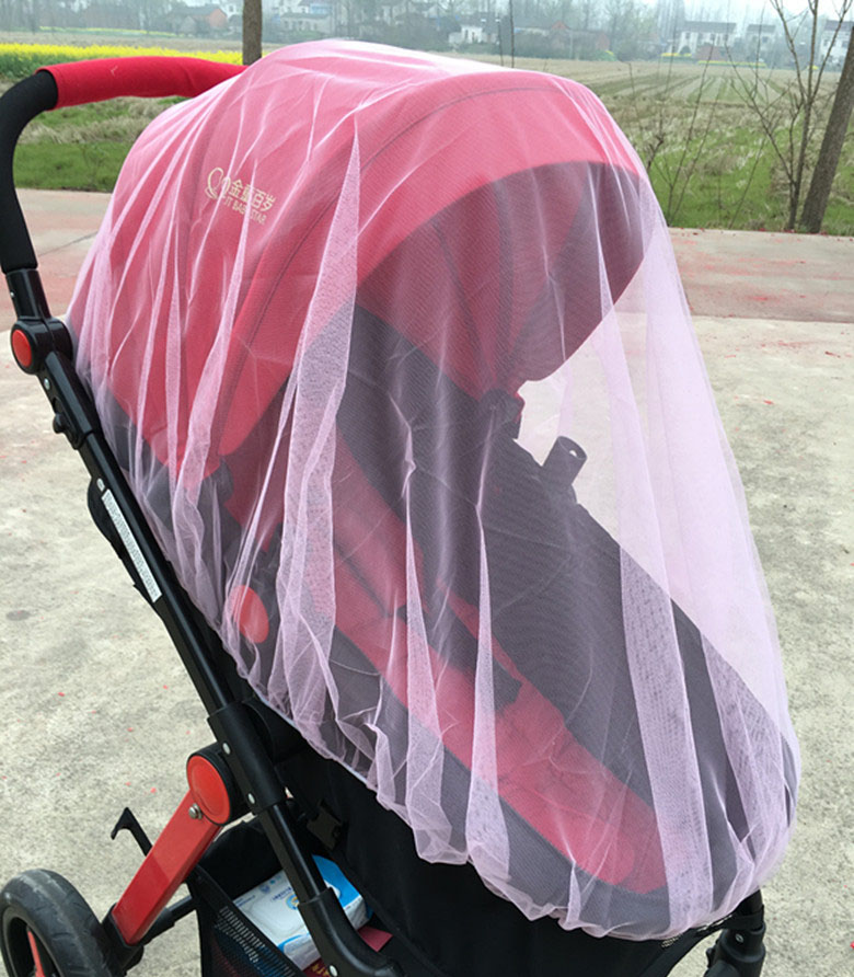1Pc Baby Stroller  Mosquito Outdoor Baby infant Kids Stroller Pushchair Mosquito insect Net