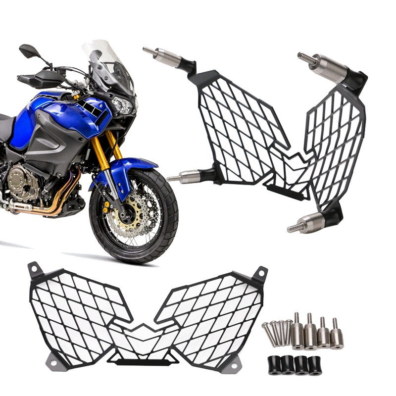 for YAMAHA XT1200Z XT 1200 Z Super Tenere 2010-2018 Motorcycle Modification Headlight Grille Guard Cover Protector 1