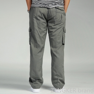Image 3 - ฤดูใบไม้ผลิและฤดูใบไม้ร่วงหลวมขนาดใหญ่XLตรงกางเกงOVERSIZEยืดหยุ่นเอวกางเกงสบายๆกางเกงผู้ชาย 6XL 5XL 4XL 3XL