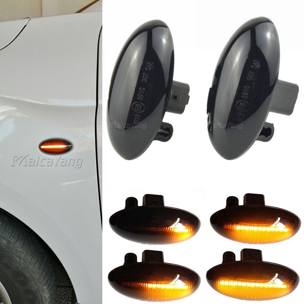 Светодиодный динамический поворотный сигнал для Citroen C1 C2 C3 C4 C5 C6 Xsara Picasso Berlingo Jumpy