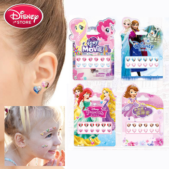 Disney Frozen Princess Stickers Anna Elsa Ear Stickers Scrapbooking Sticker for Luggage Laptop Notebook Car Motorcycle Toy Phone image