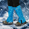 Outdoor Waterproof Snow Leg Gaiters Adjustable Ski Leg Warmer Hiking Boot Gaiters Shoes Cover For Walking Hunting Camping Climb
