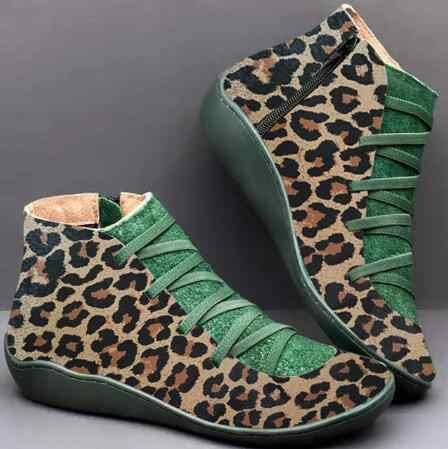 2019 kürk Botas Mujer kadın kış kar botları PU deri ayak bileği yay düz ayakkabı kadın kısa kahverengi Botas