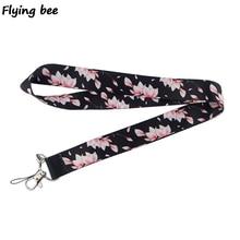 Flyingbee Cherry blossoms Keychain…