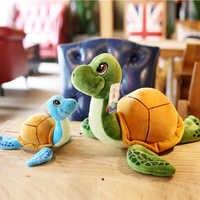 25-30cm nueva llegada ejército verde tortuga con ojos grandes peluche tortuga de juguete muñeca tortuga niños como regalo de Navidad de cumpleaños envío gratis