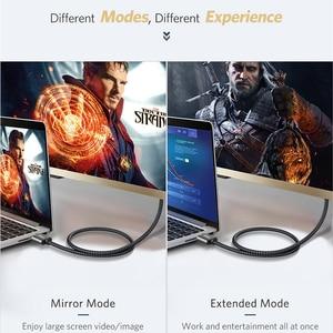 Image 5 - Vothoon 4K HDMI 케이블 HDMI HDMI 2.0 HDR 4K 60Hz 케이블 TV LCD 노트북 프로젝터 컴퓨터 PS4 TV 1m 2m 3m HDMI 케이블