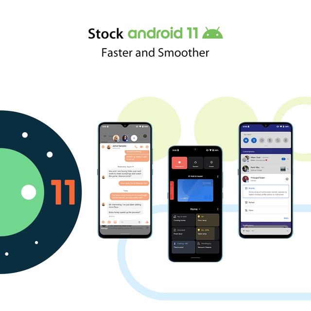 "In Stock UMIDIGI A9 Smart Phone Android 11 Global Version 13MP AI Triple Camera Helio G25 Octa Core 6.53"" HD+ 5150mAh Cellphone 6"