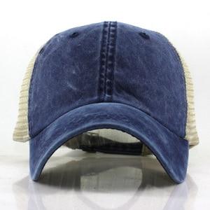 Image 3 - Lato Mesh czapka z daszkiem mężczyzna kobiet Snapback czapki Hip Hop stałe dorywczo czapki kości tata kapelusz Casquette regulowane gorras hombre
