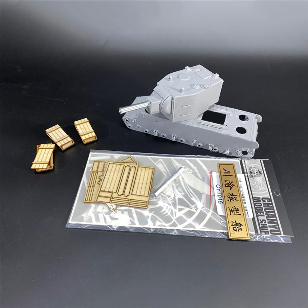 Durable Metal Barrel Model Tank Upgrade Part for 1/35 Scale KV-2 Tank <font><b>Trumpeter</b></font> 00312 Model Accessories image