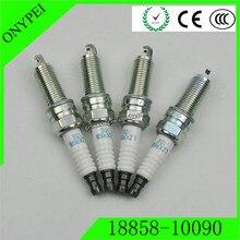 Spark-Plug 18858-10090 HYUNDAI Auto-Ignition LZKR6B10E 4PCS for KIA I30 Pride ELANTRA