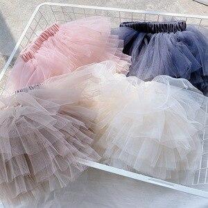 Юбки-пачки для маленьких девочек Летняя кружевная одежда для малышей детская юбка принцессы для девочек бальная юбка-американка вечерние ю...